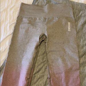 Gymshark Ombré Seamless Leggings Size Medium